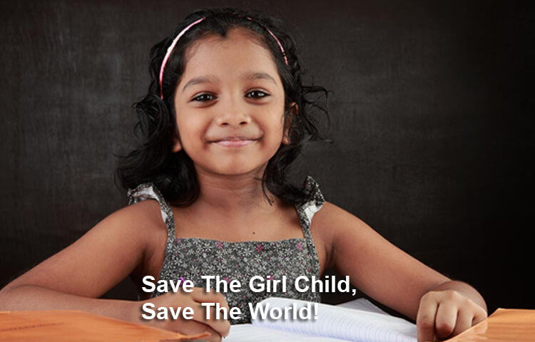 Save The Girl Child, Save The World!